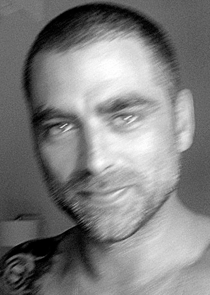 Portrait noir et blanc de Philippe Kerlo